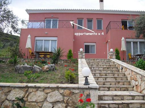 Lefkada Appartamento Olimpia Due Camere Primo Piano Con