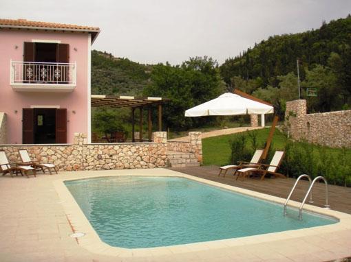 Lefkada villa indipendente una camera con balcone giardino - Piscina da balcone ...